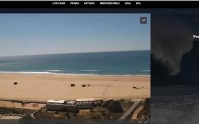 Live cams - meo beachcam online