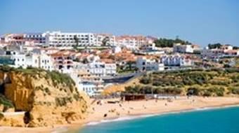 Albufeira in the Algarve
