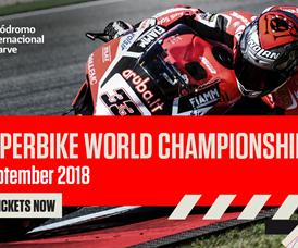Mundial de Superbikes volta a Portimão em 2018