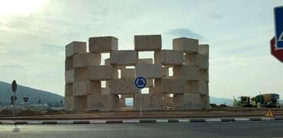 Pinoso's new roundabout