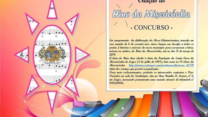 Hino da Misericórdia - Concurso