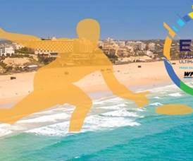 Portugal foi 4.º classificado no Europeu de ultimate de praia na Praia da Rocha Portimão Algarve