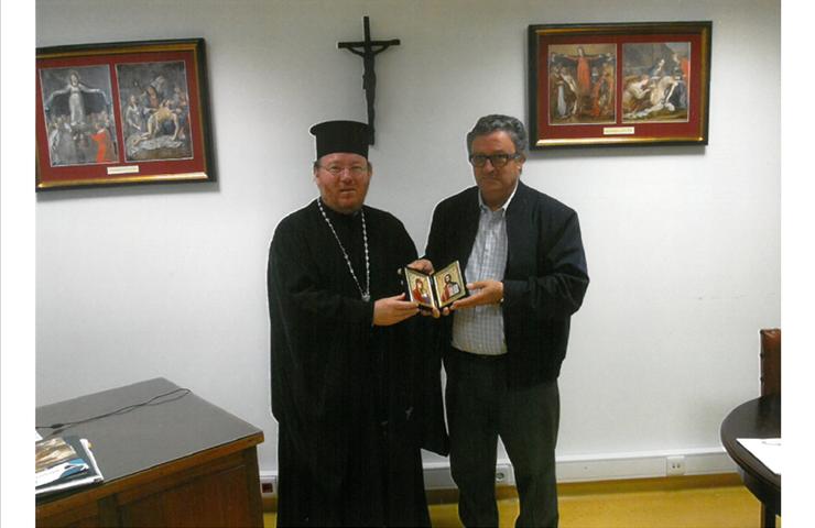 Visita do Vigário Geral da Igreja Ortodoxa do Patriarcado Ecuménico de Constantinopla para Portugal e Galiza