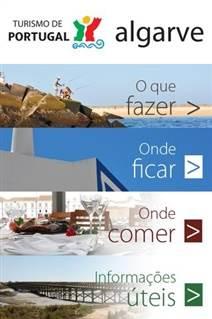 Pagina oficial do Turismo do Algarve