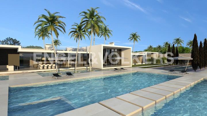 Villa for sale in Loulé Vilamoura   > T6s   Ref: W-02JWS2