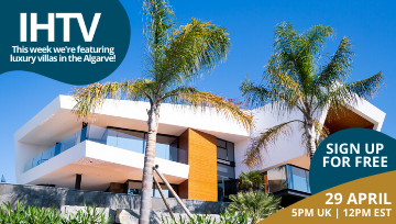 IHTV - Episode 2 - Luxury Villas For Sale in the Algarve!
