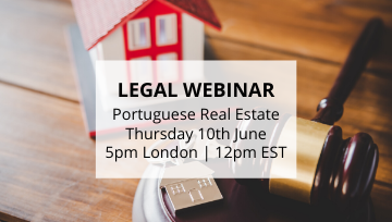 Webinar with Portuguese Real Estate Lawyer! 🎥