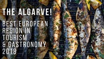 Algarve Best European Region in Tourism and Gastronomy 2018