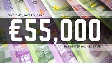 For the price of a coffee a day, you could be earning in excess of €55,000 per year by renting out your property with Ideal Homes Rentals!