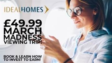 £49.99 March Madness Viewing Trips! Find your holiday home & rental investment in Portugal! ☀✈💰🏡