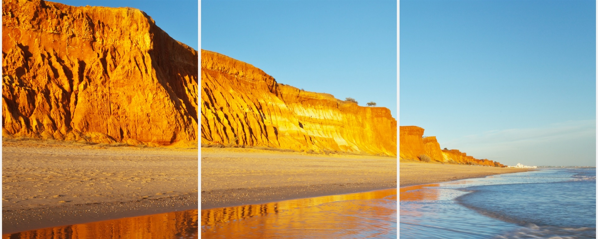 the stunning algarve golden coast