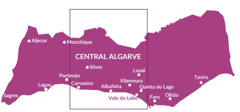 Property for sale in Central Algarve and Golden Triangle